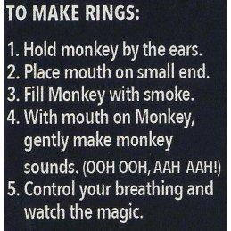 Monkey O Red Smoke & Vape Trick Kit