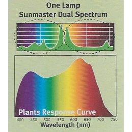 SUNMASTER Dual Spectrum High Pressure Sodium lamp, 250W