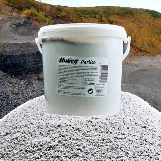 hubey Perlites 12 L, oxygen storage and drainage layer, aggregate for soil improvement