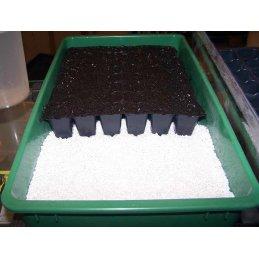 Hubey Perlite 12 Liter, Sauerstoff- und Feuchtigkeitsspeicher, Zuschlagstoff zur Bodenverbesserung