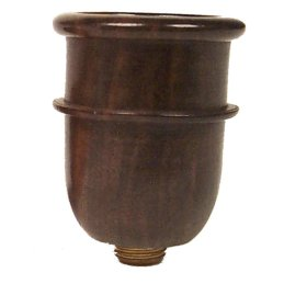 Ebony pipe bowl, conical, height ca. 3cm