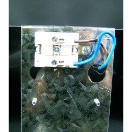 Hammer-blown reflector,  45 x 47cm incl. socket (E40)