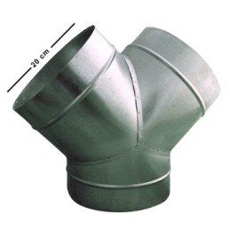 Y-Stück aus Metall, Ø 200/200/200mm