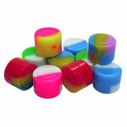 10x UDOPEA Silicone Container 2ml, assorted colors