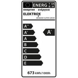 Elektrox SUPER GROW 600W 58.000 Lumen