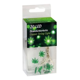 """LED Chain of lights """"Leaves"""""""