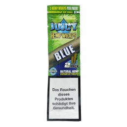 Juicy Hemp Blunt, Blue, 2 pieces
