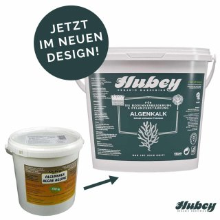 hubey algae aglime powder, carbonic aglime made of sea algae finely ground, 5kg