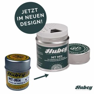 Hubey MT Mix 50g Streuer zur Impfung der Wurzeln - Mykorrhiza - Trichoderma und Wurzelbakterien - Mischung