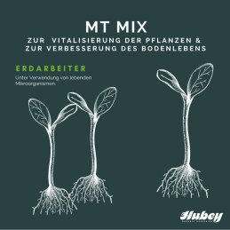 hubey MT mix 50g shaker for the immunization of roots -...