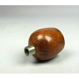 Briar wood bowl, natural, height approx. 3 cm