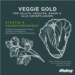 Hubey Veggie Gold 2,5 kg organic natural fertilizer without animal additives