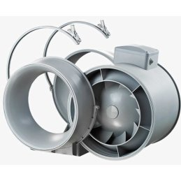 Ventilution Mixed In-Line axial tube fan, Ø 100mm, 190m³/h