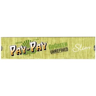 Pay-Pay Go Green Alfalfa, King Size Slim 108 x 44 mm 32 Blatt