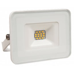 LED outdoor floodlight 10W, 900 lumen, 6500K, cool white,...