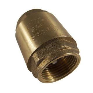 Check valve 1.9cm (3/4), internal thread