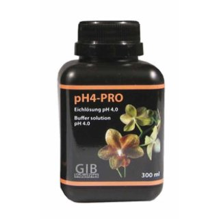 GIB Industries pH4-PRO, pH-Eichlösung, 4 pH, 300 ml