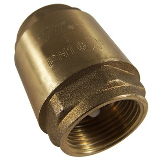 Check valve 2.54cm(1), internal thread