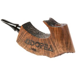 hubey Freehand Pipe made of briar wood with ebonite mouthpiece, length 16,5cm