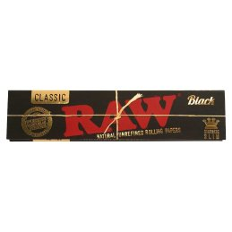 RAW Classic black, King Size Slim 108 x 44mm 32 Blatt...