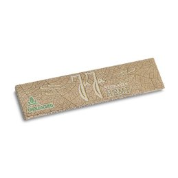 JaJa Hemp Unbleached, King Size Slim roling paper, 108 x 44mm 32 Blatt