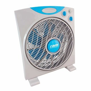 RAM Eco box fan with 3 levels