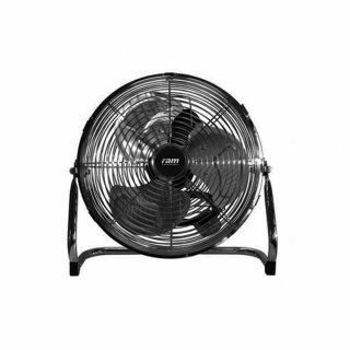 RAM floor fan including 3 step switches, Ø 39cm, with 30cm blade diameter