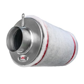 Mammoth activated carbon filter (AKF) air throughput 2500m³ / h, flange Ø 250mm, 1000mm high