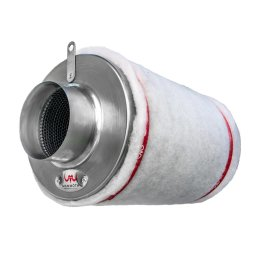Mammoth activated carbon filter (AKF) air flow rate...