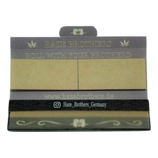 Haze Brothers King Size Slim 33 papers and 33 filter tips