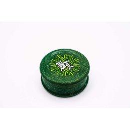 Black Leaf Hemp plastic grinder zu 100% rein organisch