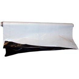 Schwarz/Weiß Folie lichtdicht 60 µm, 2 x 25m
