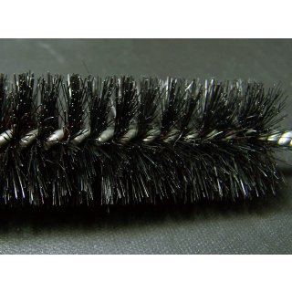 Cleaning brush with plastic bristles, length ca. 28cm, ø ca. 2,5